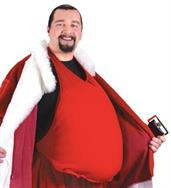 Men's Santa Belly