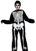 unisex Skeleton Costume