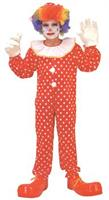 Child Deluxe Clown Child Costume