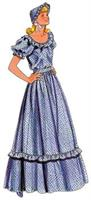 Women's Pattern For Pioneer Dress, 2 Pc
