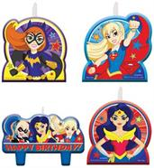 DC SUPERHERO GIRLS CANDLE SET