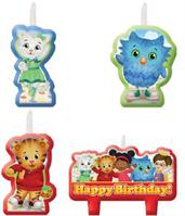 DANIEL TIGER CANDLE SET