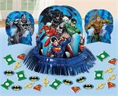 JUSTICE LEAGUE TABLE DECOR