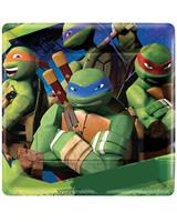 TMNT 1ST SQ PLATES 7IN