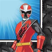 POWER RANGERS NS 1ST BEV NAPKIN