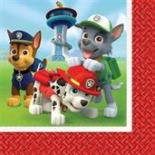 PAW PATROL 1ST LUNCH NAPKINS
