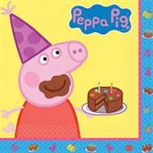 PEPPA PIG 1ST LUNCH NAPKINS