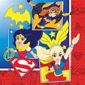 DC SUPERHERO GIRLS 1ST LUNCH NAPKIN