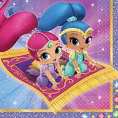 SHIMMER SHINE 1ST LUNCH NAPKIN