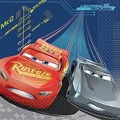 DISNEY CARS 3 1ST LUNCH NAPKIN