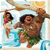 MOANA 1ST LUNCH NAPKINS