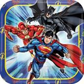 JUSTICE LEAGUE 7IN PLATES