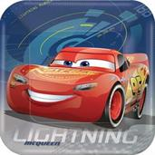 DISNEY CARS 3 1ST SQUARE PLATE