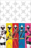 POWER RANGERS NS 1ST TABLE COVER