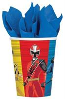 POWER RANGERS NS CUPS 9OZ