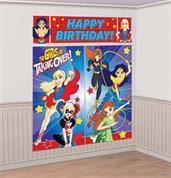 DC SUPERHERO GIRLS DECOR KIT