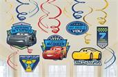 DISNEY CARS 3 FOIL DECOR
