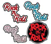 Rock N Roll Chenille Patch