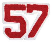 Patch 4In Numbers Pair Assorted