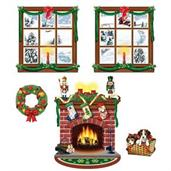 Indoor Christmas Decor Cut Outs