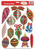 Christmas Ornament Window Clings