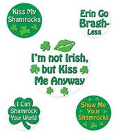 St. Patrick's Day Buttons