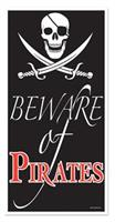 BEWARE OF PIRATE DOOR COVER
