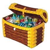 TREASURE CHEST COOLER INFLATABLE