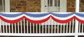 Stars Stripes Fabric Bunting