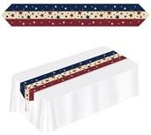 PRINTED AMERICANA TABLE RUNNER