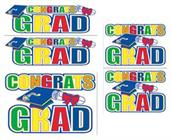 Congrats Grad Auto Clings