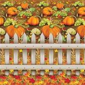 PUMPKIN PATCH BACKDROP 4 X 30F