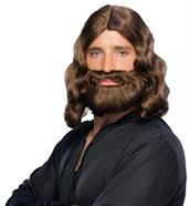 Biblical Beard & Wig Brown