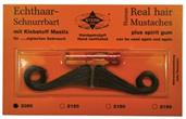 Mustache Real Hair Amer Brown