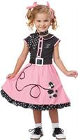 Girl's Sock Hop Costume