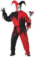 Adult Evil Jester Plus Size Costume