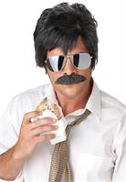 Ace Detective Wig and Mustache