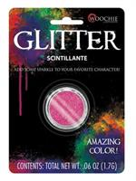 GLITTER HOT PINK 0.1 OZ CARDED