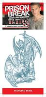 Prison Break Avenging Devil Temporary Tattoo