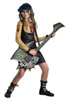 Girl's Zombie Rocker Costume