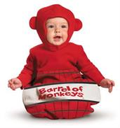 Infant Barrel Of Monkeys Costume