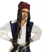 Jack Sparrow Headband with Braids