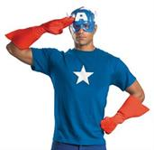 Adult Captain America Costume Kit