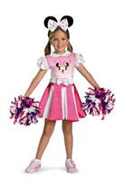 Girl's Minnie Cheerleader Costume