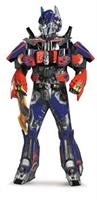 Men's Optimus Prime Rental Quality Costume