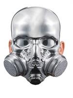 Bio-Hazard Chrome Mask