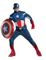 Men's Theatrical Captain America Costume