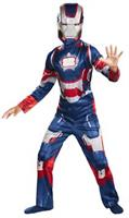 Boy's Iron Patriotic Child Costume