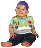 Infant Buzz Lightyear Bib & Hat Set