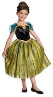 Girl's Frozen Anna Coronation Costume